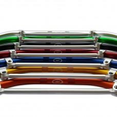Traversino in ergal colorati per manubrio da 22 mm
