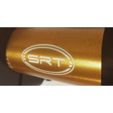 Manubrio a sezione variabile piega bassa 22 28 mm SRT in ergal
