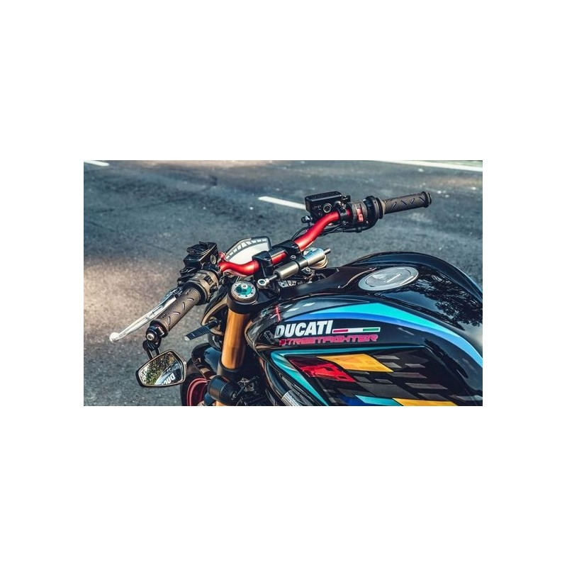 Handlebar SRT variable section bends low from 22 to 28