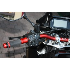 Handlebar Ergal bends medium 22/28 mm SRT for naked bikes