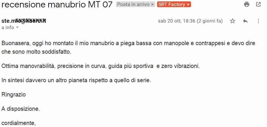 manubrio mt07